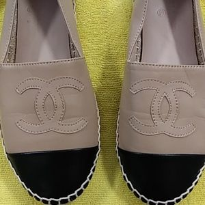CHANEL  Leather Loafers